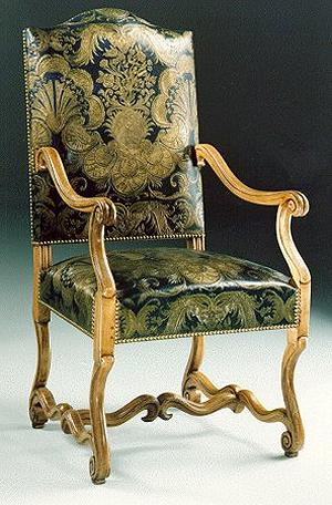 fauteuil style louis xiv. Black Bedroom Furniture Sets. Home Design Ideas